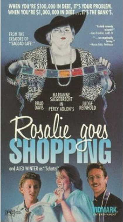 VHS Videos - Rosalie Goes Shopping