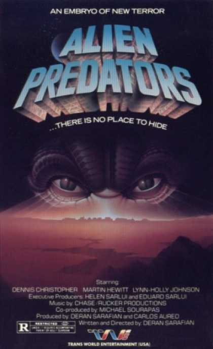 VHS Videos - Alien Predators