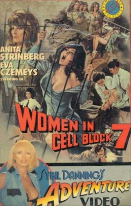 VHS Videos - Women in Cell Block 7