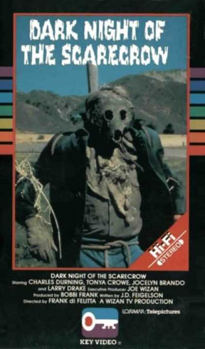 VHS Videos - Dark Night Of the Scarecrow