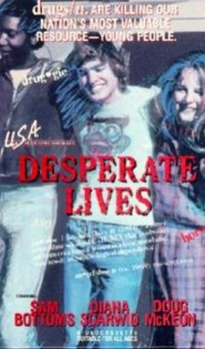 VHS Videos - Desperate Lives