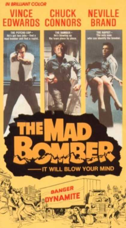 VHS Videos - Mad Bomber