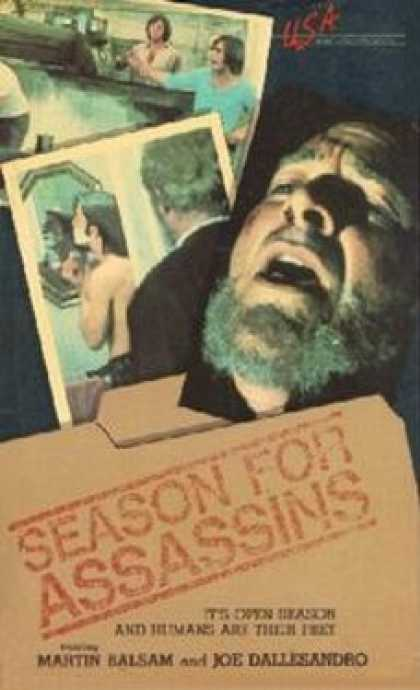 VHS Videos - Season For Assassins