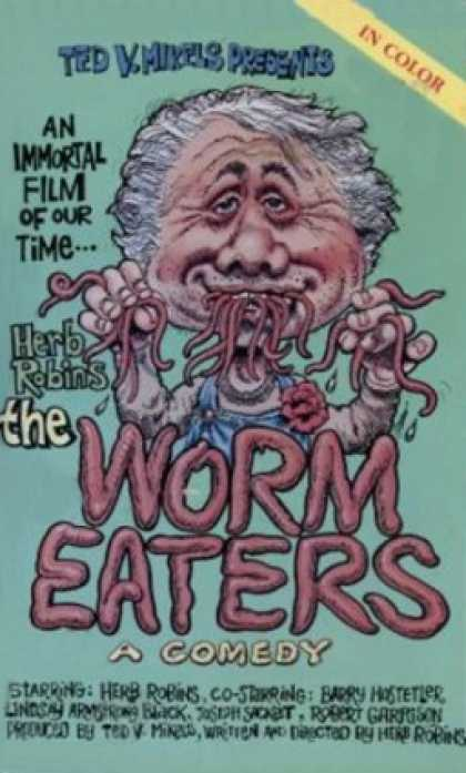 VHS Videos - Worm Eaters