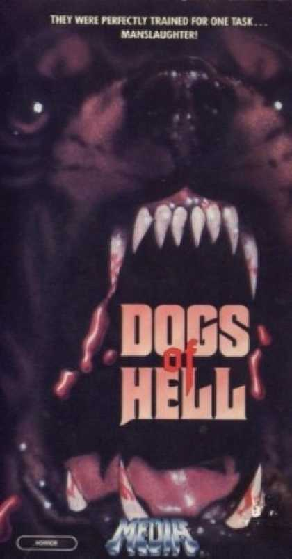 VHS Videos - Dogs Of Hell