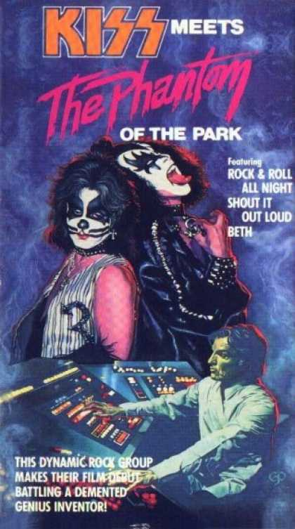 VHS Videos - Kiss Meets the Phantom Of the Park