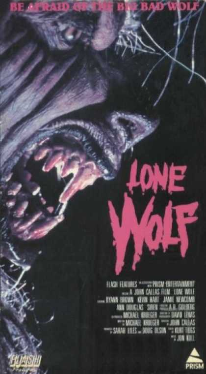 VHS Videos - Lone Wolf