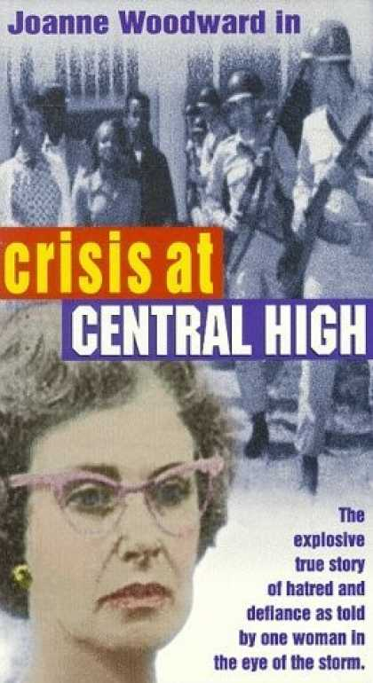 VHS Videos - Crisis At Central High