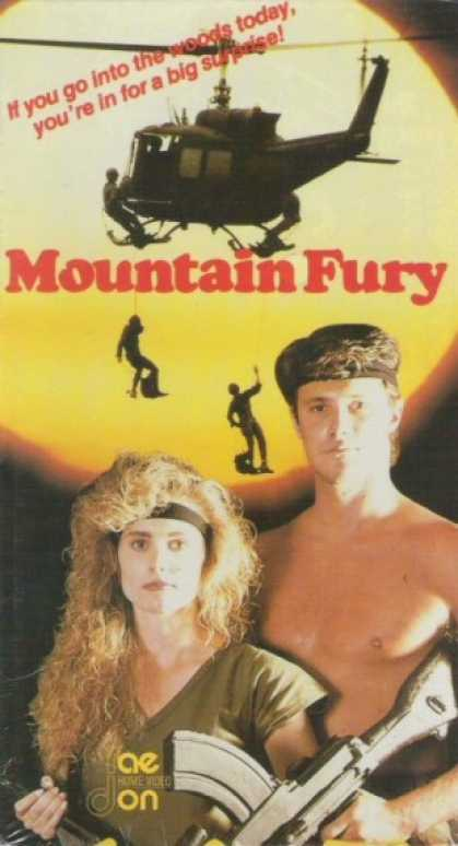 VHS Videos - Mountain Fury