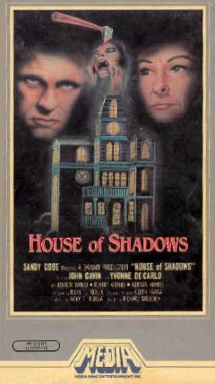 VHS Videos - House Of Shadows