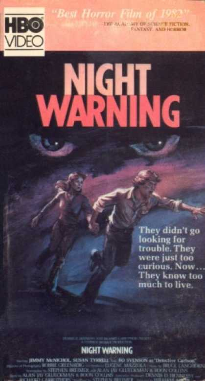 VHS Videos - Night Warning