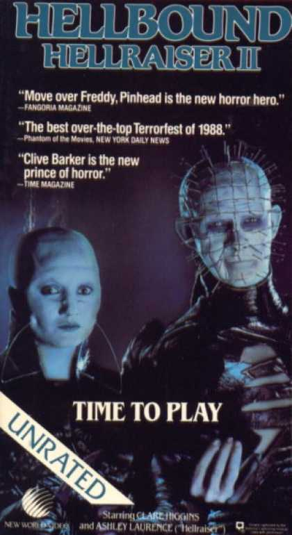 VHS Videos - Hellbound Hellraiser Ii