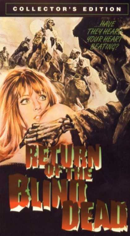 VHS Videos - Return Of the Blind Dead