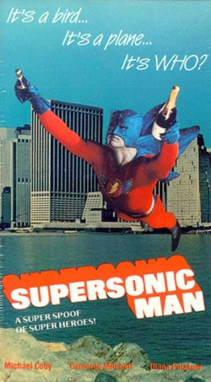 VHS Videos - Supersonic Man United