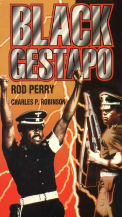 VHS Videos - Black Gestapo Gemstone