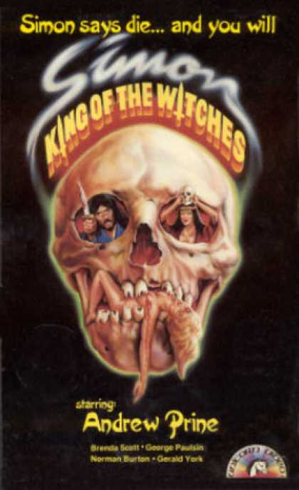 VHS Videos - Simon King Of the Witches