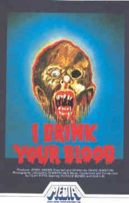 VHS Videos - I Drink Your Blood
