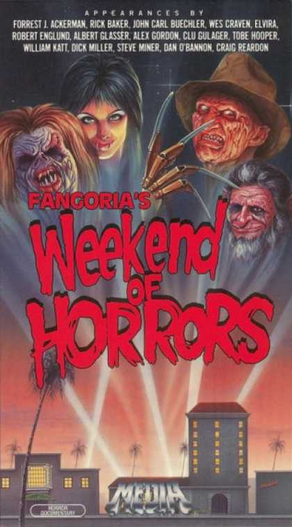 VHS Videos - Fangoria Weekend Of Horrors