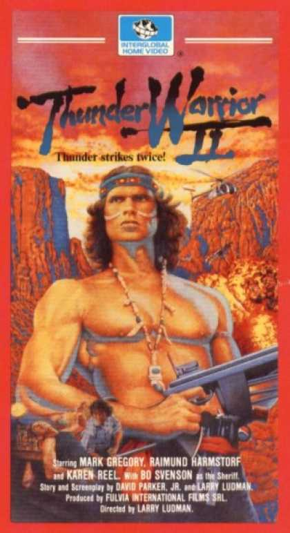 VHS Videos - Thunder Warrior Ii