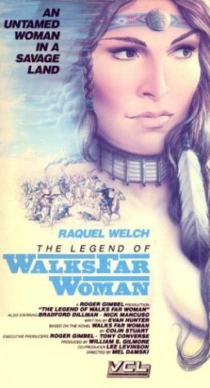 VHS Videos - Legend Of the Walks Far Woman