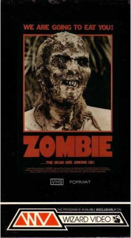 VHS Videos - Zombie