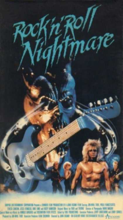 VHS Videos - Rock N Roll Nightmare