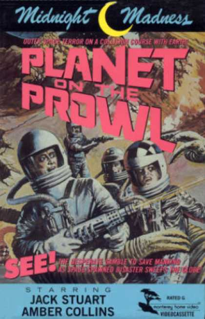VHS Videos - Planet On the Prowl