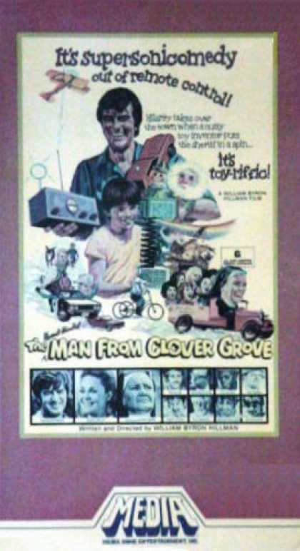VHS Videos - Absent Minded Man From Clover Grove