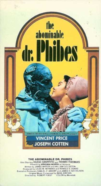 VHS Videos - Abominable Dr. Phibes