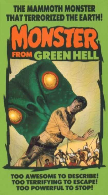 VHS Videos - Monster From Green Hell