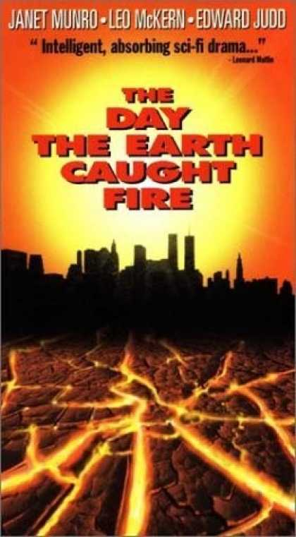 VHS Videos - Day the Earth Caught Fire