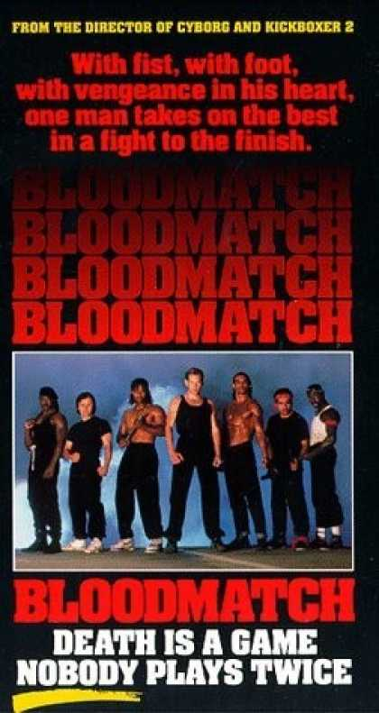 VHS Videos - Bloodmatch