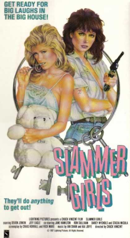 VHS Videos - Slammer Girls