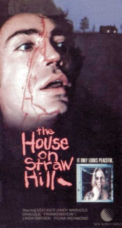 VHS Videos - House On Straw Hill