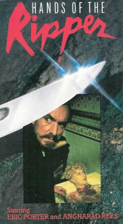VHS Videos - Hands Of the Ripper