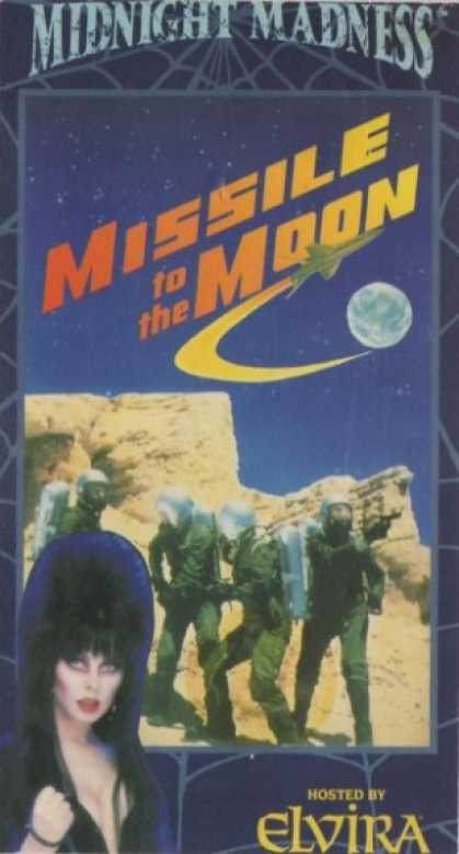 VHS Videos - Missile To the Moon
