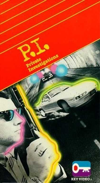 VHS Videos - P.i. Private Investigations