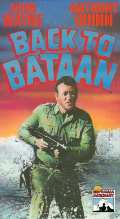 VHS Videos - Back To Bataan Nostalgia