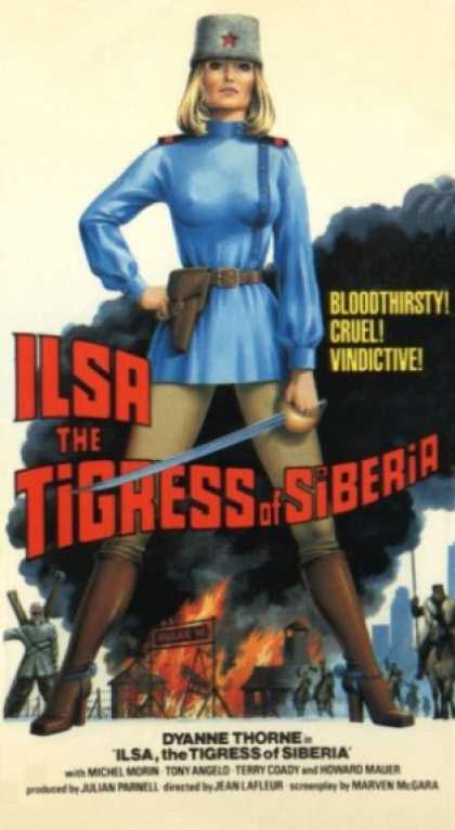 VHS Videos - Ilsa Tigress Of Siberia