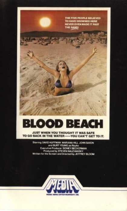 VHS Videos - Blood Beach