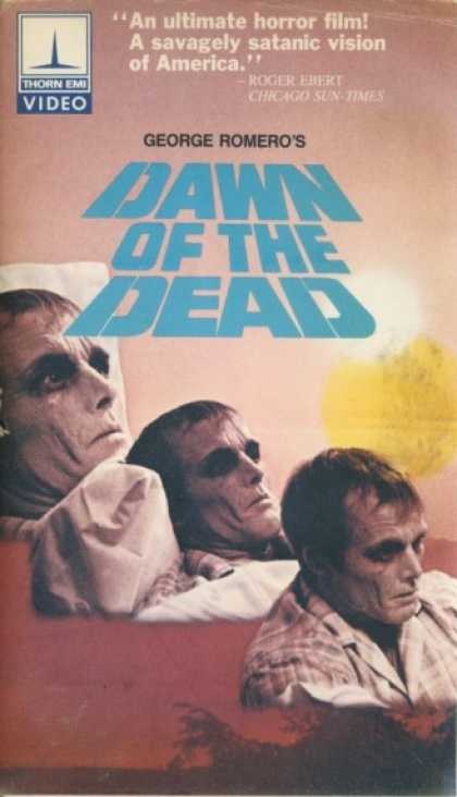 VHS Videos - Dawn Of the Dead Thorn