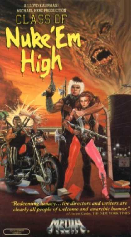 VHS Videos - Class Of Nuke'em High