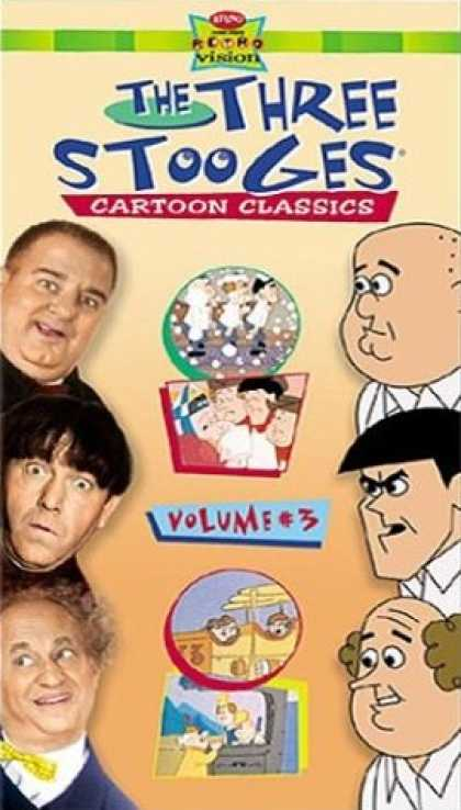 VHS Videos - Three Stooges Cartoon Classics