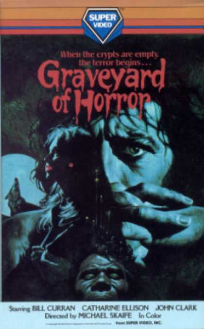 VHS Videos - Graveyard Of Horror