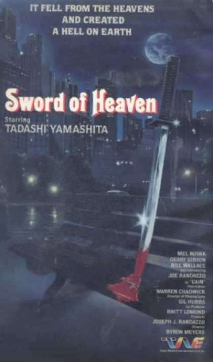 VHS Videos - Sword Of Heaven