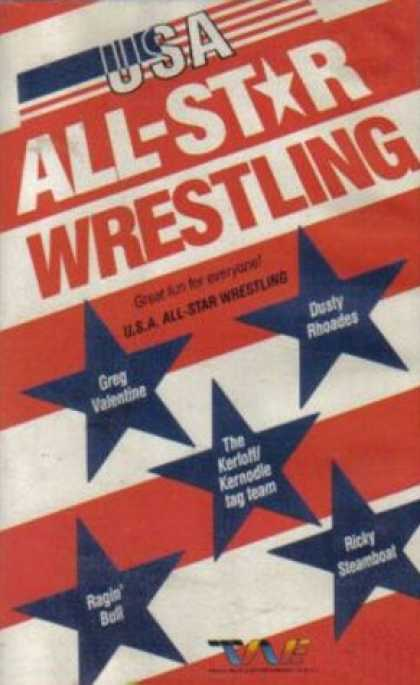 VHS Videos - Usa All Star Wrestling