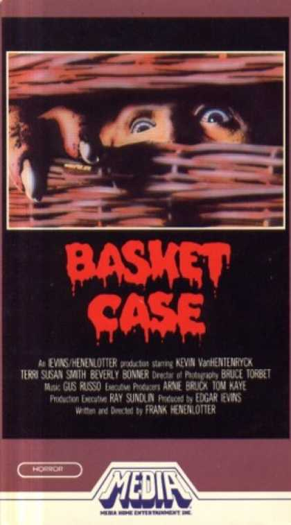 VHS Videos - Basket Case