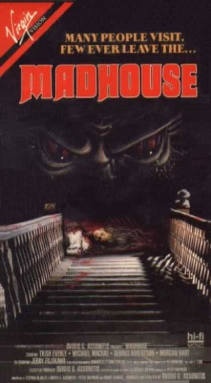 VHS Videos - Madhouse 1981
