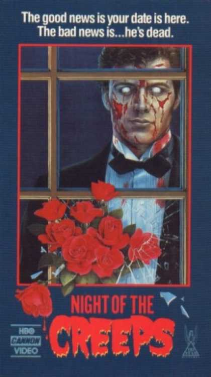 VHS Videos - Night Of the Creeps Hbo Cannon