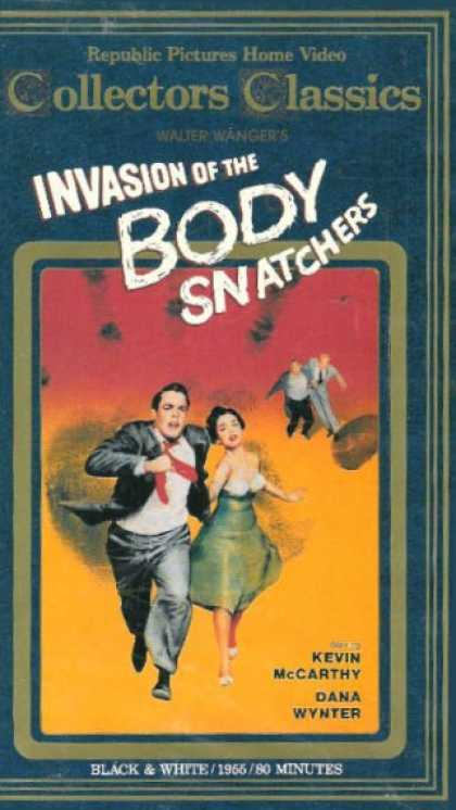 VHS Videos - Invasion Of the Body Snatchers